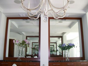 Mirror within Customer's frames