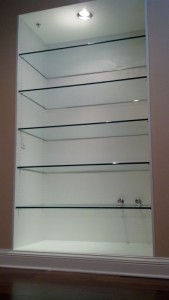 Glass Closset Shelves