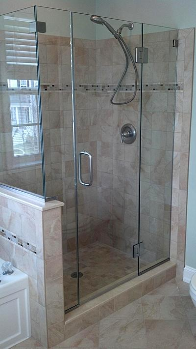Frameless glass bath and shower enclosures annapolis maryland hinged shower door planetlyrics Image collections